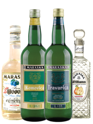 Traditional Croatian Rakija Brandy