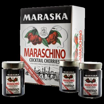 Maraschino cocktail cherries